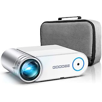 Portable HD Video Projector 1080p Supported LCD Home Movie Projector