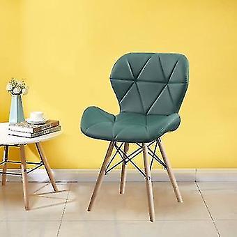 家庭のための研究レトロな蝶ノルディックリビングキッチンダイニングルーム木製の椅子