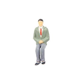 1 25 Puppenhaus Miniatur kleiner Mann Modell Schlafzimmer Zubehör Dekoration