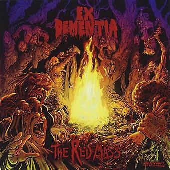 Ex dementie - Red massa [CD] USA importeren