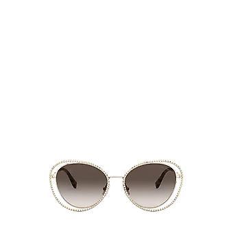 Miu Miu MU 59VS pale gold female sunglasses