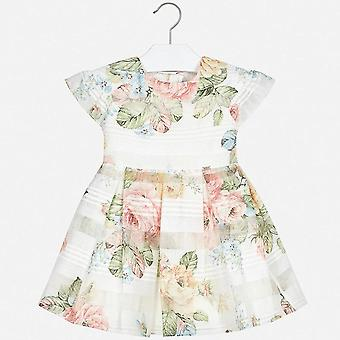 Mayoral girls floral print dress 3930