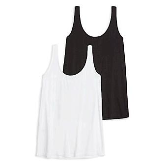 Daily Ritual Women's Jersey Tank Top, White, X-Small