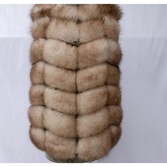 Natürliche Fuchs Pelz Weste Damen Winter Herbst Mantel