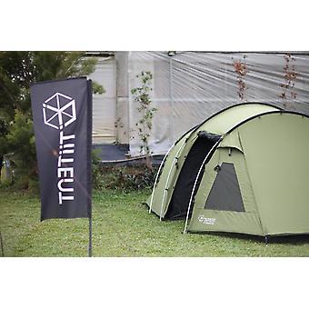 Truvii tunnel tent Sunrise TS03 color green