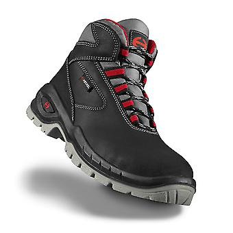 Uvex 6263800 Size 11 Suxxeed S3 Lightweight Safety Boots Black/Grey/Red