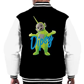 Teletubbies Dipsy The Second Teletubby Men's Varsity Jacket