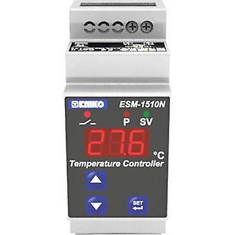 Emko ESM-1510-N.5.11.0.1/00.00/2.0.0.0 Bang-bang Temperature controller Pt100 -50 up to 400 °C 5 A relay (L x W x H) 62 x 35 x 90 mm