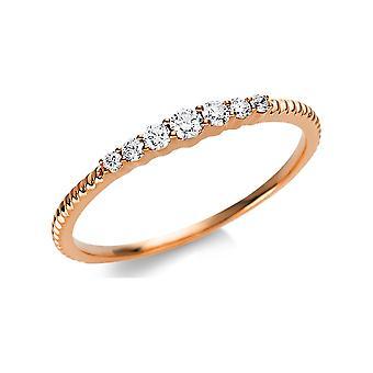 Luna Creation Promessa Ring Multiple Stone Trim 1U469R854-3 - Ring Width: 54