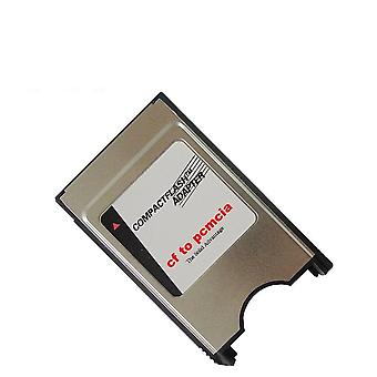 Cf Card To Pcmcia 68 Pin Compact Flash Reader Adapter For Laptop