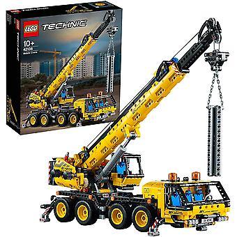 LEGO 42108 Technic Mobile Crane Truck Toy, Construction Vehicles Building Set