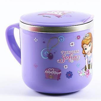 Disney Söt Cartoon Milk Cup 300ml Kreativ Dryck Vatten Juice Cup Mickey