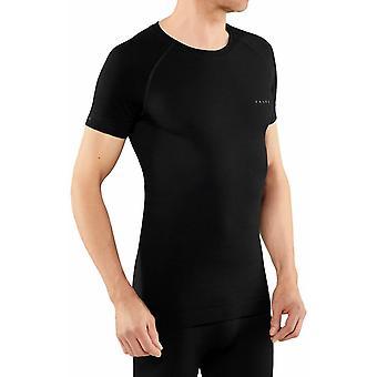 Falke Wool-Tech Light Regular Fit Chemise à manches courtes - Noir