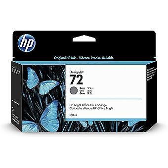 HP 72 Grau Original Druckerpatrone mit hoher Reichweite (130 ml) fr HP DesignJet