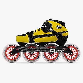 100% Original Bont Pursuit 3pt Speed Inline Skates Heatmoldable Carbon Fiber