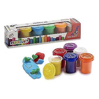 Modellierung Clay Game 6 Farben