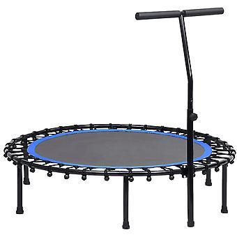 Fitness trampolína s rukojetí 122 cm