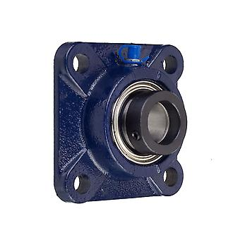 RHP SF50EC 4 Bolt Square Cast Iron Flange Housing 50mm Bore