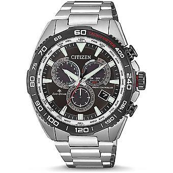 Citizen - Zegarek na rękę - Mężczyźni - CB5036-87X - Zegar radiowy - Kaliber E660