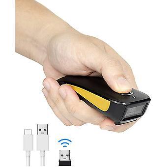 HanFei C750 Wireless Barcode Scanner Bluetooth kompatibel kleine Tasche USB 1D 2D QR Code Scanner für