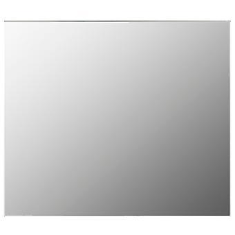 vidaXL Espelho sem moldura 80x60 cm vidro