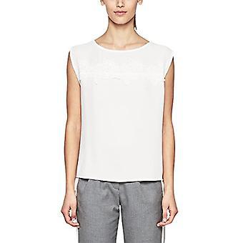 s.Oliver BLACK LABEL 11.803.32.2566 T-Shirt, Ivory (Peace Cream 0115), 46 Woman