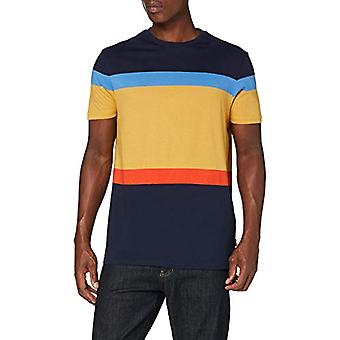 Springfield 3ip Raya Indiepop-c/55 T-Shirt, Beige (Beige/Camel 55), Small Man