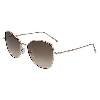 DKNY Woman DK104S Sunglasses, Brown, 55