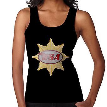 BSA Red Logo Badge Women's Vest