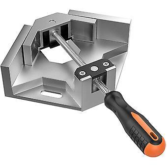 Rechtwinklige Klammer,  Einhand-90 ° Aluminium-Legierung Ecke Klemme, rechtwinklig Clip-Klemme