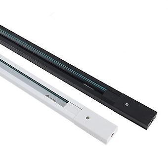 Aluminium Connector System Tracks Fixture Black White Universal Skinner