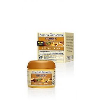 Avalon Organics - Vitamin C Erneuerung Rejuv ölfreie Feuchtigkeitscreme 50ml