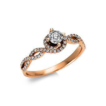 Luna Creation Promessa Ring Mehrfachsteinbesatz  1U999R854-1 - Ringweite: 54