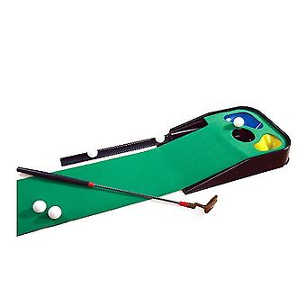 Golf putting matsgolf matmet bal blockerportable indoor kantoor en outdoor golf praktijk mat x1071