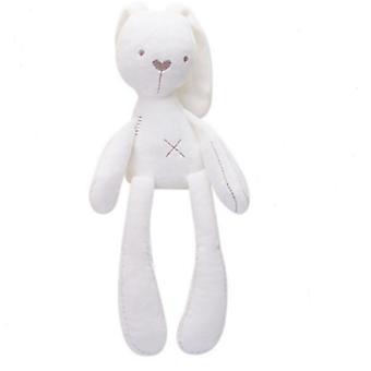 White1# rabbit bbsky long-legged rabbit plush toy, soothing plush baby toy az19813
