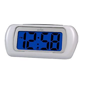 Acctim Auric LCD Clock White