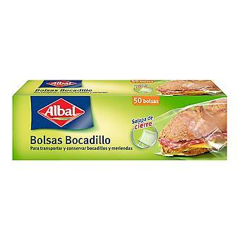 Sandwich Box Albal (50 uds) (1 l)
