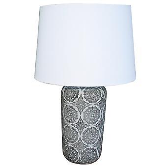 Svart Mandala Lampe 63.5cm