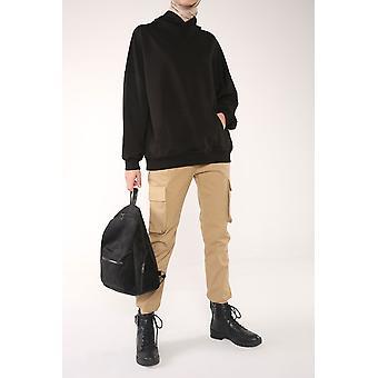 Hooded Comfy Sweatshirt With Pocket