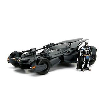 Batman Liga de la Justicia Batimóvil y Batman Escala 1:24 Jada 99232