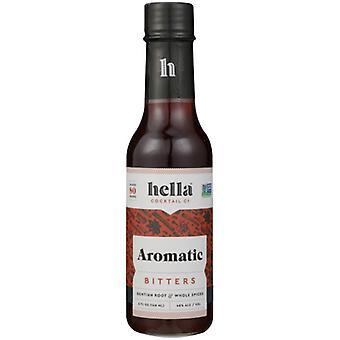 Hella Cocktail Bitters Aromatyczny Koktajl, Case of 6 X 5 Oz