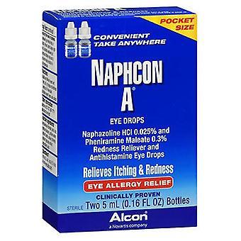 Naphcon A Naphcon A Silmätippa, taskukoko, 2 x 5 ml