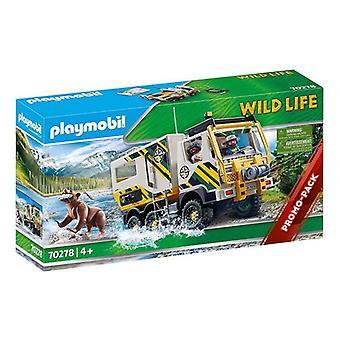 مركبة بلايست بلاي موبيل مغامرات الحياة البرية