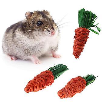 Karottenförmiges Kaninchen, Hamster-Kaubiss