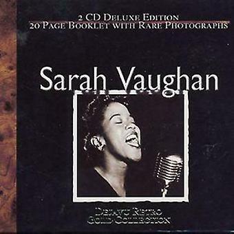 Sarah Vaughan Sarah Vaughan DEJA VU RETRO GOLD CD 2 discs (2001)