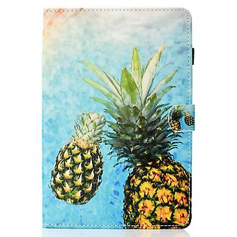 Case For Ipad 9 10.2 2021 Cover With Auto Sleep/wake Pattern Magnetic - Pineapple
