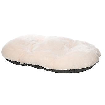 Nordic Soikea tyyny koiran vuoteeseen Mukava pestävä, 36-tuumainen (harmaa)