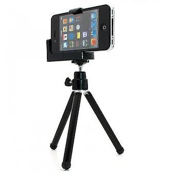 Phone Tripod, Portable And Flexible Tripod(Black)