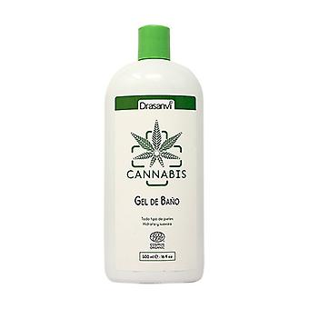 Cannabis Ecocert Bath Gel 500 ml of gel