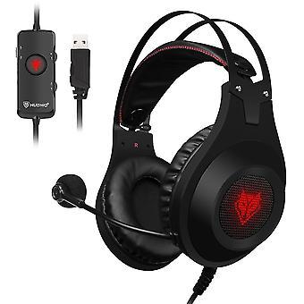 Computer Gaming Hovedtelefoner Øretelefoner Headset Gamer til mobiltelefon hovedtelefon med mikrofon øretelefoner